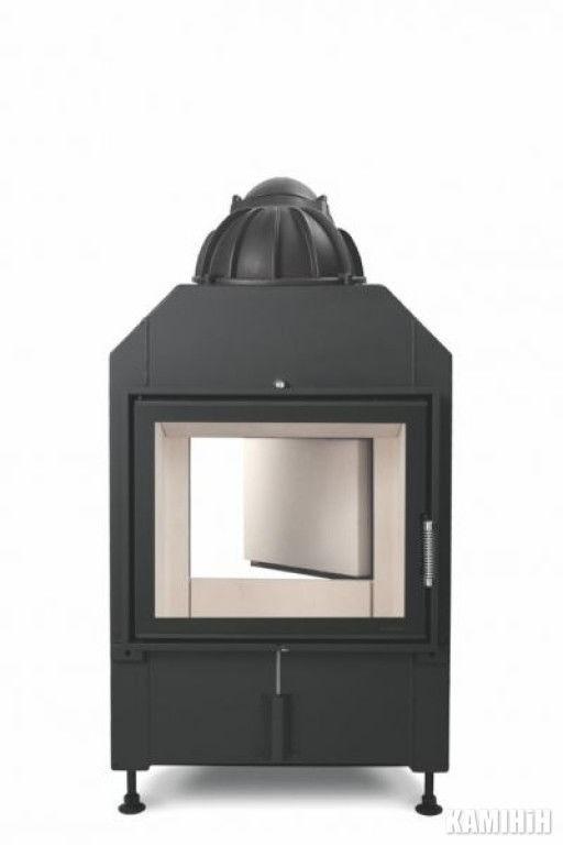 Hoxter HAKA 63/51a с внешним розжигом,чугунным куполом, двойное стекло