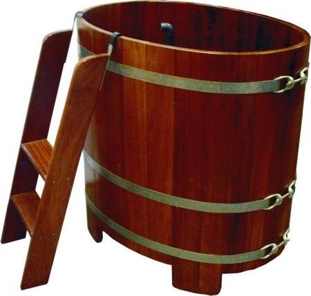 Бочка-купель овальная Камбала
