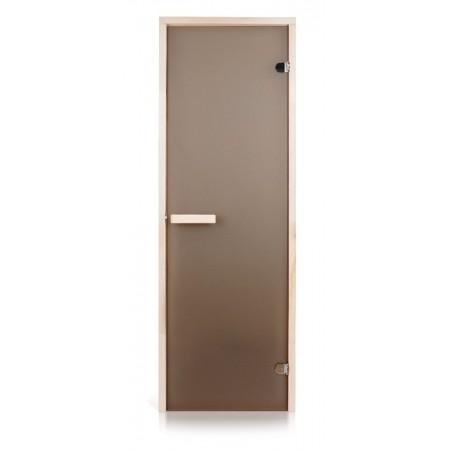 Двери для саун 700х1900 бронза