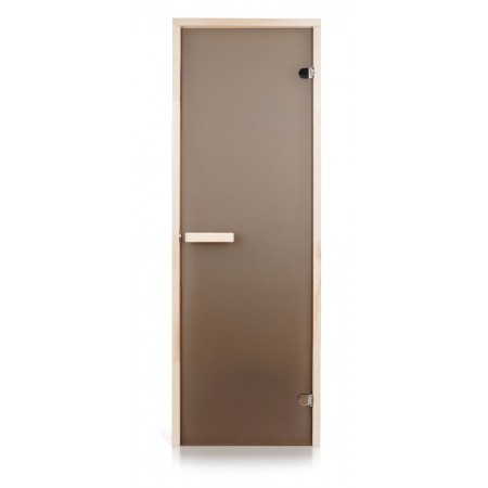 Двери для саун 700х2000 бронза