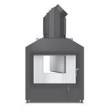 Hoxter HAKA 78/57a внешний розжиг со стальным теплообменником, двойное стекло,подключение 90º