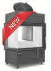 Hoxter ECKA 67/45/51a внешний розжиг с чугунным куполом, двойное стекло