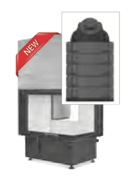 Hoxter ECKA 67/45/51 ha внешний розжиг,с аккумуляционной насадкой