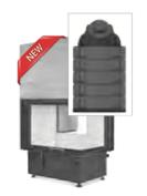 Hoxter ECKA 67/45/51 ha внешний розжиг,с аккумуляционной насадкой,двойное стекло