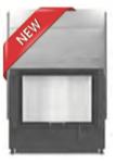 Hoxter HAKA 78/57Wh вертикальное открывание двери, двойное стекло,с дополнительной мощностью