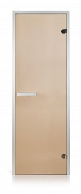 Двери для хаммама  700х1900 бронза