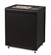 Каменка электрическая Concept R Combi 10,5 кВт+2,5 кВт(черная)
