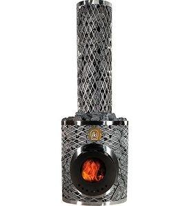Дровяная каменка Maxi-IKI Plus со стеклянной дверцей