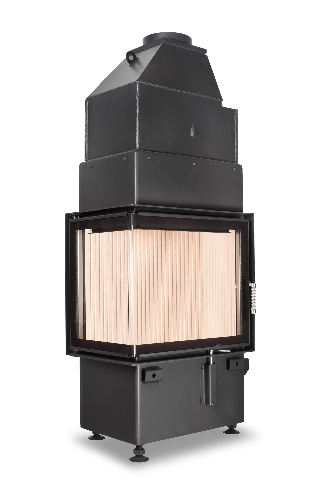 Hoxter ECKA 50/35/45WL боковое открытие, двойное стекло,левосторонний навес двери