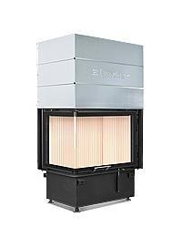 Hoxter ECKA 67/45/51Rh со стальным теплообменником, левосторонняя, двойное стекло, подключение 45˚