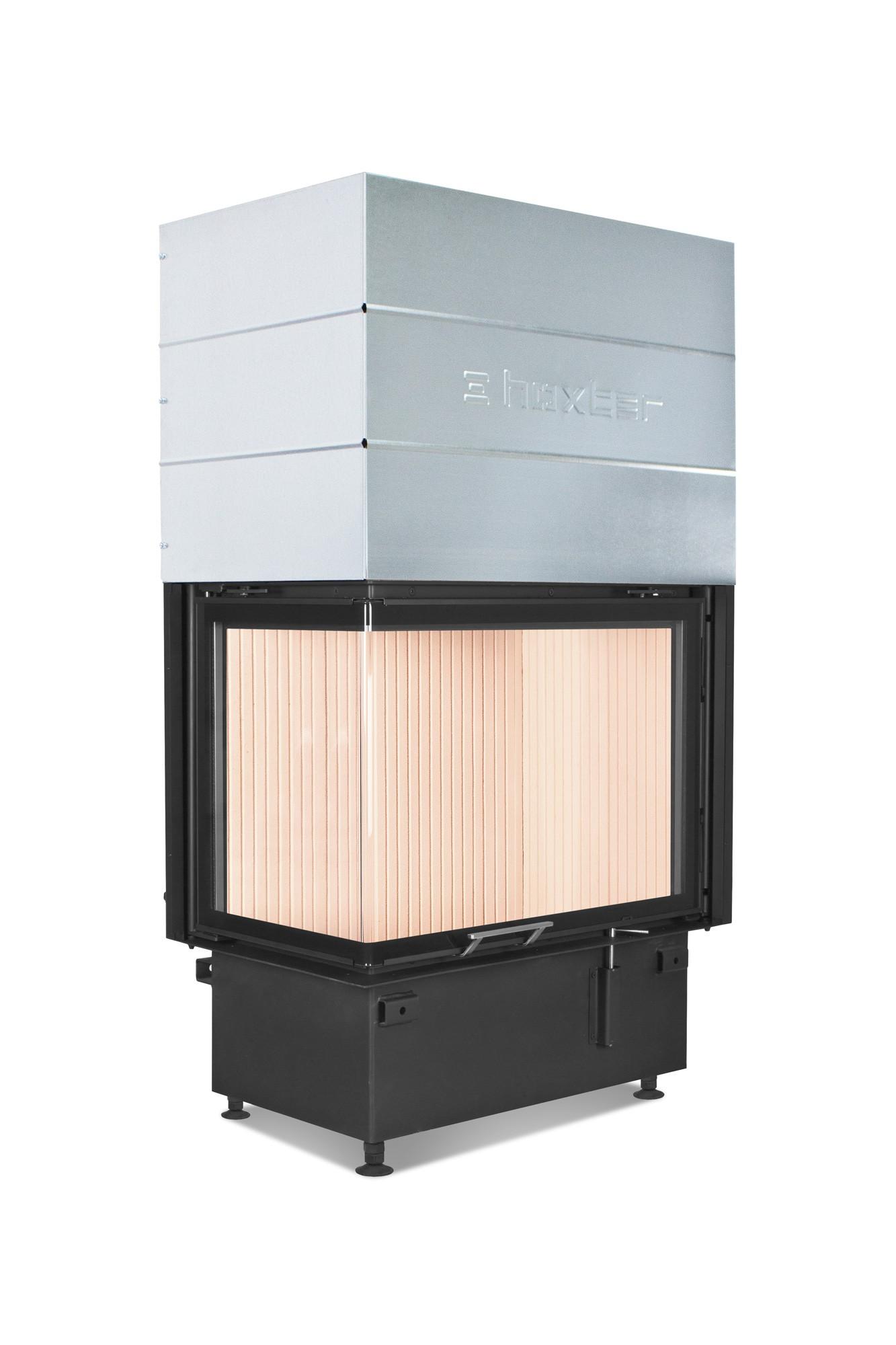 Hoxter ECKA 76/45/57Rh со стальным теплообменником, правосторонняя, двойное стекло, подключение 90º