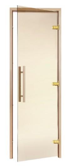 Двери для саун Greus Premium 800х2000 бронза