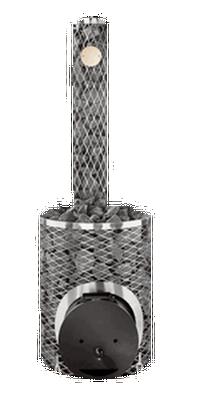 """Дровяная каменка Original IKI Plus со стальной дверцей """"смайл"""""""