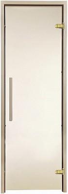 Двери для саун Greus Premium 700х1900 бронза