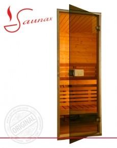 Двери для саун Saunax 700х2100 бронза