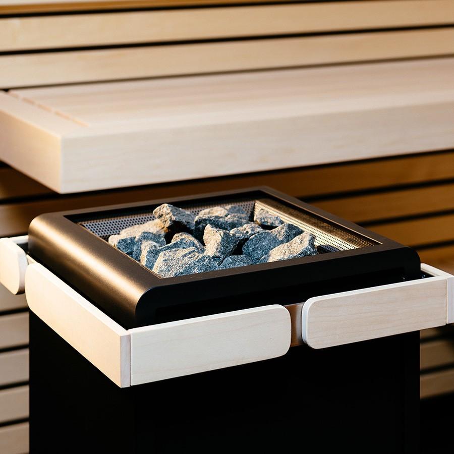 Каменка электрическая Concept R 10,5 кВт(черная)