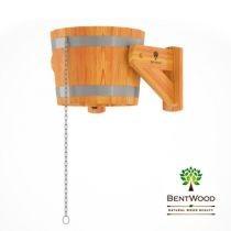 Ведро-водопад Bentwood из лиственницы, 20 л