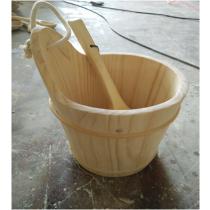 Шайка деревянная с пласт.вставкой 8л (TM Bonfire)